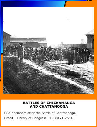 Battles of Chickamauga and Chattanooga