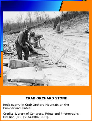 Crab Orchard Stone