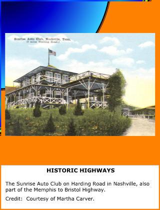 Historic Highways