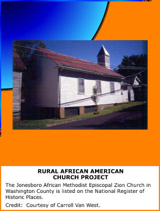 Rural African American Church Project