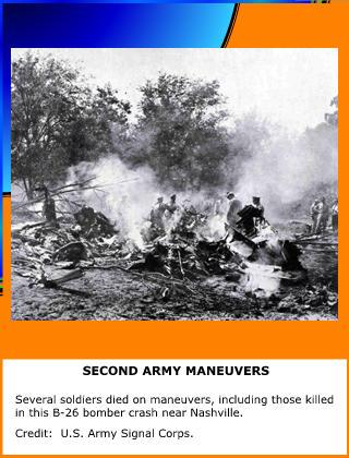 Second Army Maneuvers